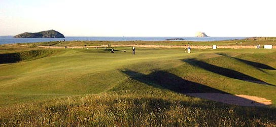 [15th 'Redan' West Links, North Berwick]