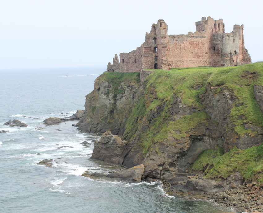 Miles Of Golf >> Tantallon Castle